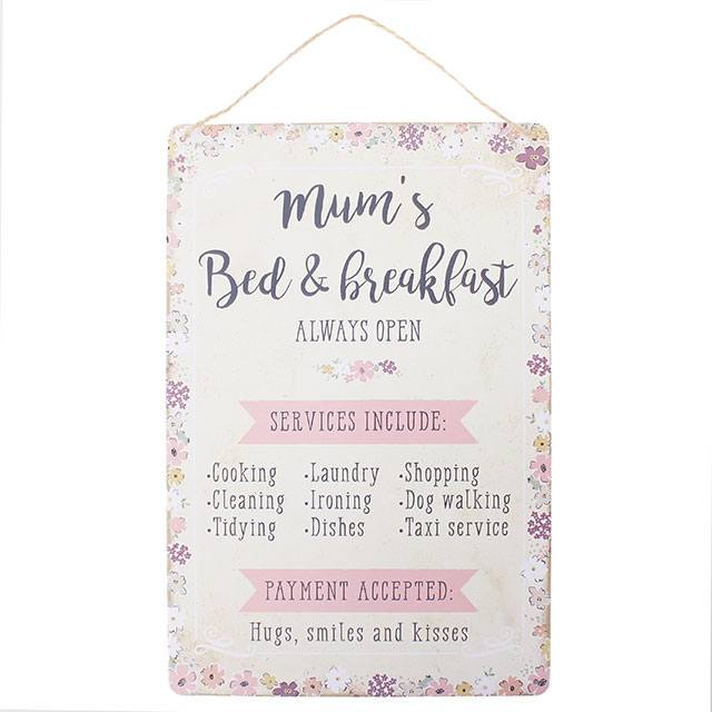 Mums bed and breakfast sign tullys pharmacy mums bed and breakfast sign stopboris Choice Image