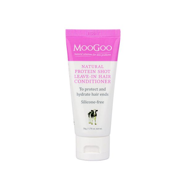 MooGoo Natural Protein Shot Leave-In Conditioner 50g