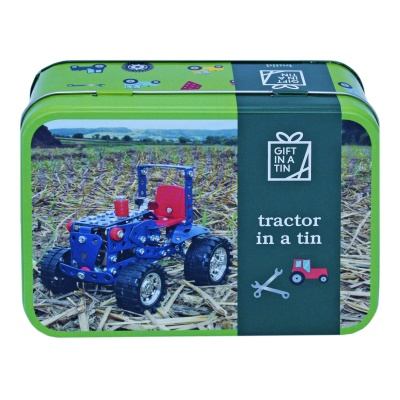Gift in a Tin - Tractor in a Tin