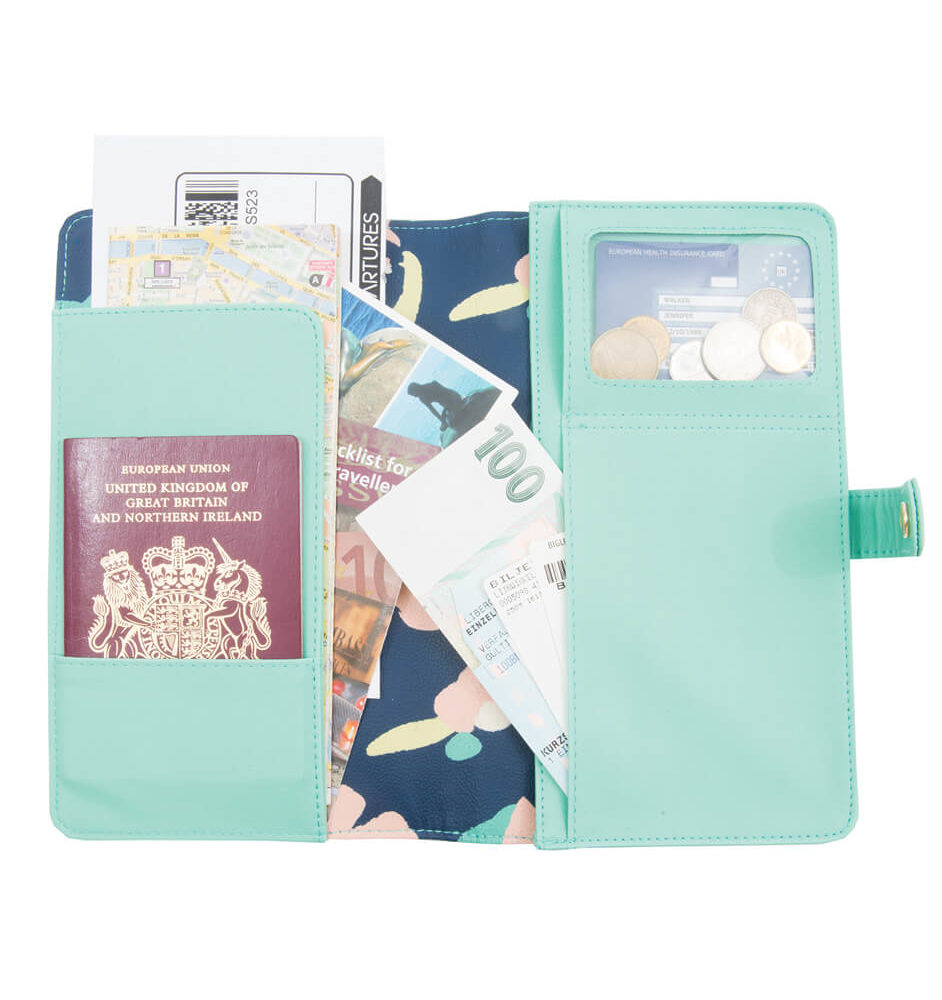Busy B Travel Wallet